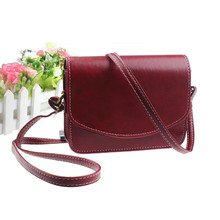 2016 Best Selling, Mini Women Bags Imitation leather Shoulder Bag Satchel Handbag Retro Vintage Messenger Bag Bolsas Mujer