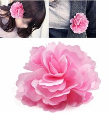 FS Hot Beauty fashion Rose Flower hairpin brooch hair accessory headband hair rope brooch