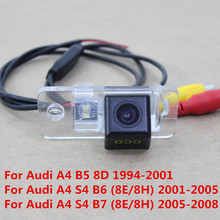 170 Degree CCD Special Car Rear View Reverse Backup Parking Camera For Audi A4 S4 B5 B6 B7 8D 8E 8H With Night Vision Waterproof
