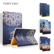 "Case Stand For iPad Air 2 1 For New iPad 2017 9.7"" Vintage Luxury Cute Cool Floral Unique PU Leather Smart Case For iPad Air 2(Hong Kong)"