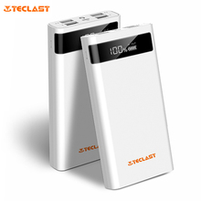 Teclast T200CE 20000mAh Power Bank Portable Charger 4 Output 8 Pin Micro USB External Battery Pack LED Emergency Light for phone