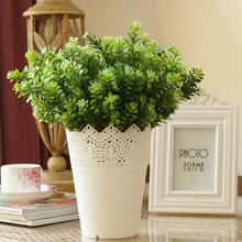 Artier Factory Direct Sales Milan Grass Big Holly Plastic Fake Flower Bouquet Artificial Plants AD0105
