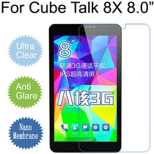 "For Cube Talk 8X 8.0"" Anti Glare Nano Soft Explosion-proof Screen Protector Film (Not Tempered Glass)(China)"
