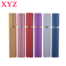 12ml 1 Piece Hot Selling&Fashion  Aluminum Perfume Bottle With Mini Atomizer Spray Bottles Portable Parfum Container