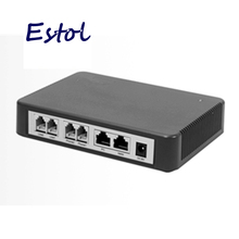 Original Newrock 4 FXS SIP VoIP Gateway,analog VoIP adapter.Elastix compatible,Mitel certificated ATA 4 analog Telephone sip ip(China)
