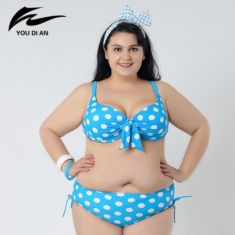 Plus Size Swimwear Ladies Swimsuit Summer Woman 2017 New Hot Sale Bikini Set Woman Sexy Large Size Swimsuit Bathing Suit W5138<br><br>Aliexpress