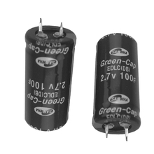 2Pcs farad capacitor 2.7V100F Super capacitor 2.7V100F ultra capacitor attractive in price and quality Brand new(China)
