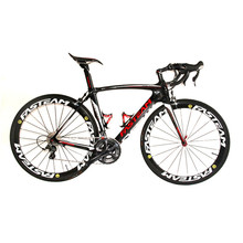 HOT SALE 2017 Full Carbon 700C Road Bike Carbon Complete Bicycle With Ultegra R8000 22 Speed Groupset And 50MM Wheelset(China)