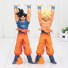 24cm Dragon Ball Z Action Figures Toys Super Saiyan Son Goku Genki dama Spirit Bomb Dragonball Bolas De Dragon DBZ Model Toy