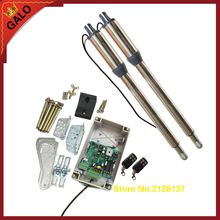 galo AC/DC 24V Input Voltage Electric Linear Actuator 300kgs Engine Motor System Automatic Swing Gate Opener remote control kit(China)