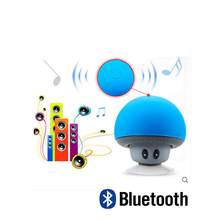 Fashion Wireless Smart Mini Portable Bluetooth Speakers cute Mushroom Stereo Speaker For Andorid IOS OS Smartphones Music player