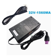 32V 1560MA Original AC Adapter Power Supply Charger For HP Printer 0957-2105 0957-2259 0957-2271 0957-2230 With AC Cable