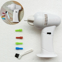Fashion Electric Safety Cordless Vacuum Ear Cleaner Easy Wax Removal Cleaning Tool(China)