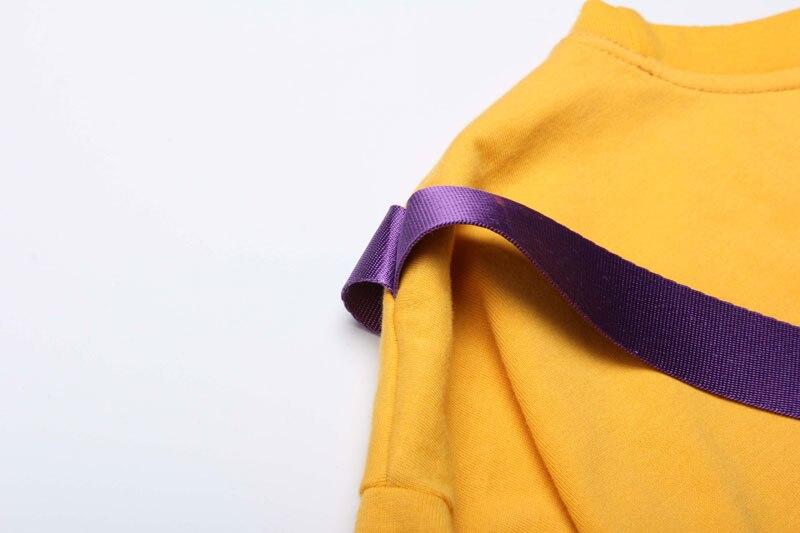 Ribbon Zipper Pocket Tshirts 7