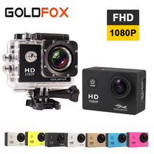 Goldfox 1080P Full HD Action Camera 30M Go waterproof pro camera Sport DV Bike helmet Car Cam With Retail Packing
