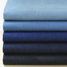 Good ! 135*50cm 1pc Denim 100%Cotton Fabric,Soft Thick Washed Denim Fabric Telas Patchwork Fabric For DIY Sewing Jeans Clothing(China)