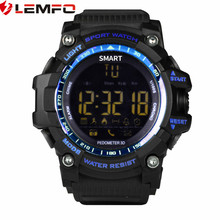 LEMFO EX16 Bluetooth 4.0 Smart Watches 1.12 inch IP67 Waterproof SI-BW03 SmartWatche IOS Android Smartphone - SmartWatch Store store