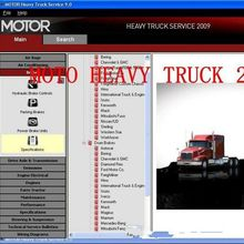 MOTOR heavy truck service manuals is equally famous as Mitchell heavy truck , containing circuit motor heavy truck software(China)