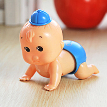 1 Pc Cute Lovely Baby Clockwork Toy Shake Head Swinging Crawling Design Children Newborn Baby Wind Up Toy Intelligence Toys