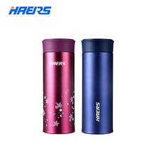 Haers Vacuum Insulated Stainless Steel Thermos Cup Double Wall Vacuum Flask Eco-friendly With Tea Filter 350ml