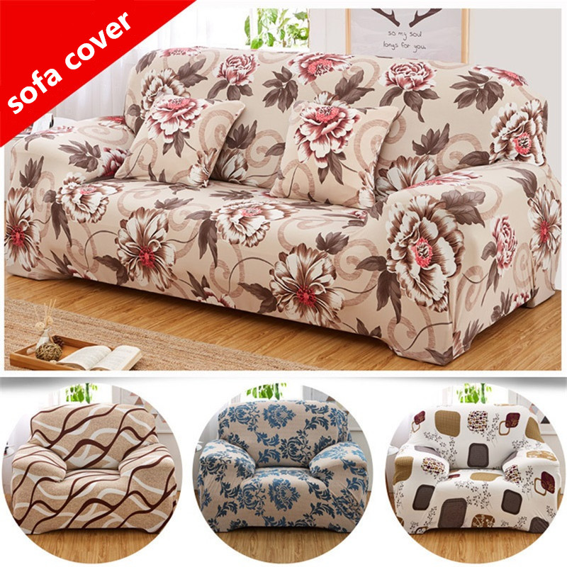 Flexible Corner Sofa Cover Big Elasticity Couch Cover Funiture Cover Machine Washable Single/Double/There/Four -seat Sofa Cover(China (Mainland))