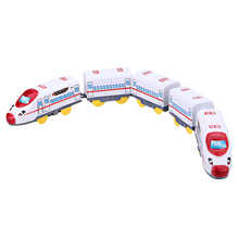 47.5 * 3 * 4.5cm Children Electric Toy Train Harmony Emu Train with 5 Carriage Jugetes Para Ninos for Kid Chirstmas Gift