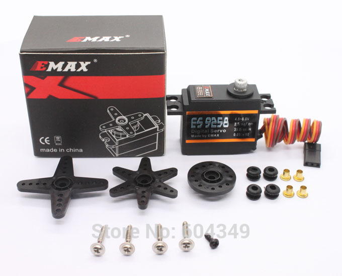 EMAX Model ES9258 RC Metal Digital Servo for 450 Helicopters Rotor Tail<br><br>Aliexpress