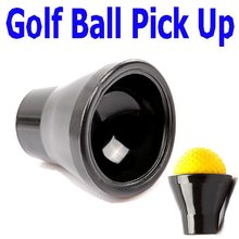 1 Piece Black Golf Ball Putter Sucker Finger Ball Retriever Pick up Set , Free Shipping Wholesale