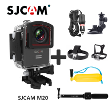 Original SJCAM M20 Wifi Gyro Sport Action Camera HD 2160P 16MP Helmet Sports DV Diving Go Waterproof Pro Camera Bluetooth Watch