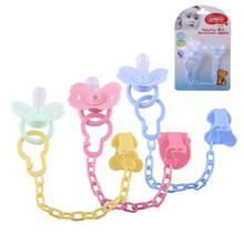 Buy ideacherry Baby Pacifier Clip Chain PP Holder Soother Pacifier Clips Leash Strap Nipple Holder Infants Nipple Bottle Chains for $1.43 in AliExpress store
