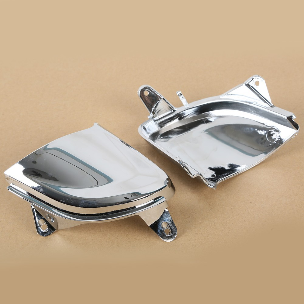 New Motorcycle Front Chrome Headlight Cover Trims For Honda Goldwing Gold Wing GL1800 2006-2014<br>