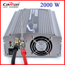 TBE 2000W Adapter DC 12V to AC 220V Modified Sine Wave Boat Car Power Inverter 2000W Peak Power TBE-2000W(China)