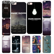 Buy MaiYaCa imagine dragons night music Coque Shell Phone Case Apple iPhone 8 7 6 6S Plus X 5 5S SE 4S Cover for $1.05 in AliExpress store