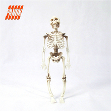 37cm 15.7'' Skeleton Escape Haunted House Halloween Skull Decoration Hanging Plastic Skeletons Tricky Halloween Props
