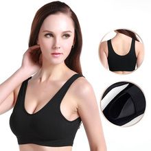 high quality healthy bra comfortable Nursing bra popular women's wire free seamless sleep bra with removable padded girl's bra(China)