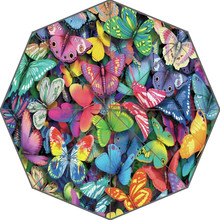 Hot Sale Custom New Butterfly Adults Universal Design Fashion Foldable Umbrella Good Gift Idea!Free Shipping