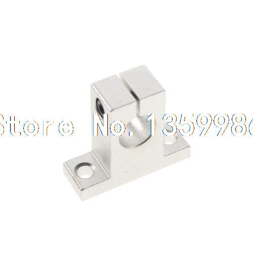 (2)Bearing CNC Aluminum SK-40 40mm Rail Linear Motion Shaft Support Series Slide<br>