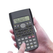 New Function Calculator for School Student Teach Test Scientific Calculator with Manual Support Drop Shipping(China)