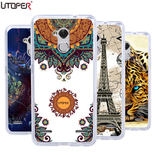 Coque ZTE Blade V7 Lite Cases 5.0 Soft Plastic Cover Printed Silicone DIY Phone Case Covers Bag - debin liu's store