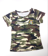 Kids Clothes  Clearance Camouflage T-shirts Summer Short-sleeve Matching Son Baby BOY 5T