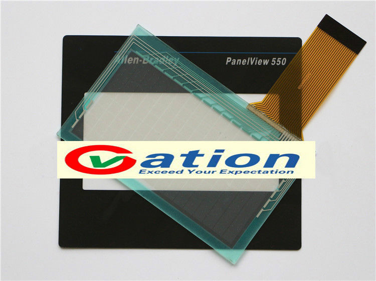 Membrane Keypad +Touch Screen Glass for Allen Bradley PanelView 550 2711-T5A20L1<br>