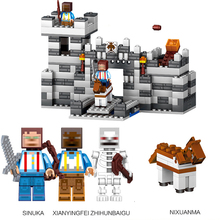 Buy Mine 268/292pcs Compatible Lego MY WORLD Minecrafted model building Blocks set brick action figure Toys gift children for $14.07 in AliExpress store
