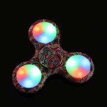 Buy LED Light Fidget Hand Spinner Finger Plastic EDC Hand Spinner Autism ADHD Relief Focus Anxiety Stress Wheel Toys Gift for $1.82 in AliExpress store