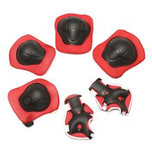 6pcs/set Roller Skating Protection Knee Elbow Wrist Pad For Men Women Kids Safety Skating Outdoor Sports Gear Guard(China)