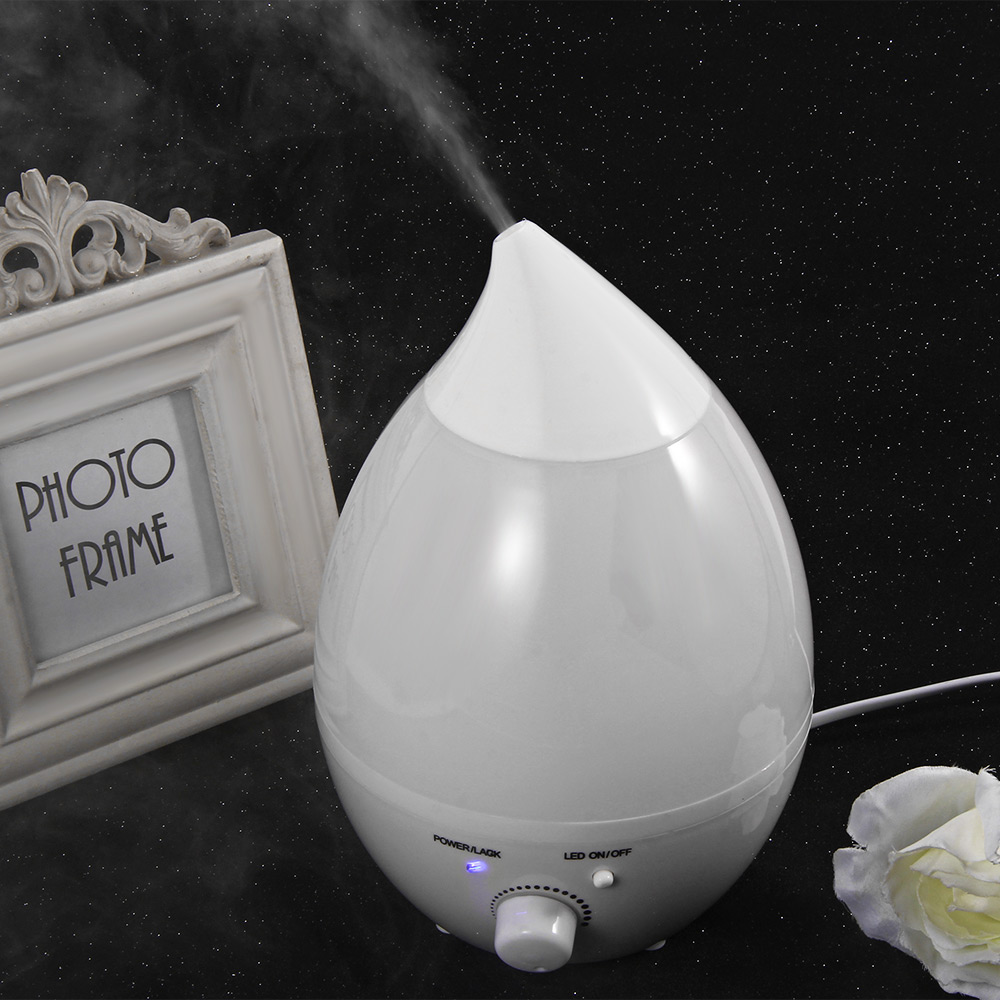 25W 1.3L GYJ-110 Home Air Humidifier Ultrasonic Aroma Diffuser Atomizer 5-40 Degrees 7 Colors LED Lights Air Freshener for Home<br><br>Aliexpress