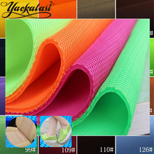 YACK 3D Sandwich Mesh Fabric PET Hygrolon Heavy Seat Cover Soft Air Spacer 3MM Thick Breathable Sport Wear 155CM Wide 230G/M2(China)