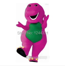 barney Purple Character costume/Cartoon Costumes/halloween/Christmas party mascot(China)