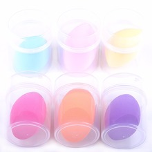 6 pieces/lot Beauty Makeup Sponge Cosmetic Puff Smooth Powder Sponges Professional Foundation Puffs 6 Colors YoTsaiSpring