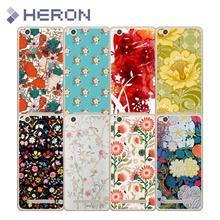 Soft Case Xiaomi Redmi 4A 2 3 5A Note2 Pro Flower Transparent TPU 0.8mm Good Quality Super Thin Cover