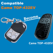433 Copy CAME TOP-432EV Duplicator 433.92 mhz remote control Universal Garage Door Gate Fob Remote Cloning 433mhz fixed code(China)